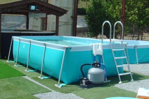 Оборудование для каркасных бассейнов