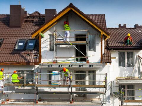 Фасадные работы и их разновидности