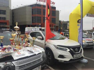 В Омске прошли соревнования по женскому авторалли