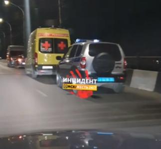 В Омске разыскивают человека, упавшего с Ленинградского моста