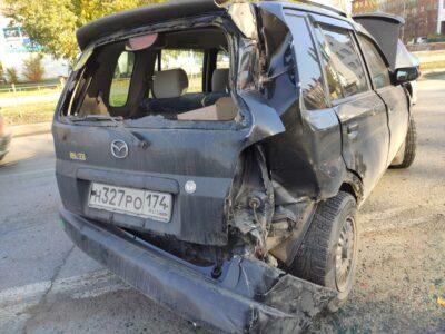 В Омске произошла авария с пятью автомобилями