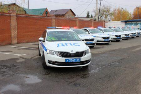 Автопарк ГИБДД в Омске пополнился новыми автомобилями