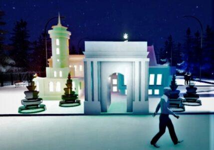 «Омск в миниатюре» построят рядом с главной городской елкой