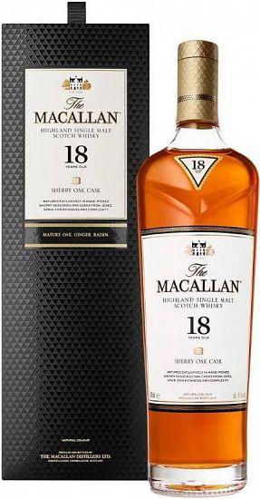Виски Макаллан 18 - изящество вкуса в каждой капле