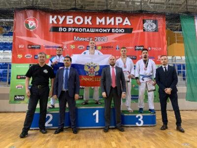 Омский спортсмен выиграл золото в Кубке мира-2020 по рукопашному бою