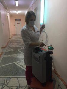 Больницы Омска получили 50 кислородных концентраторов