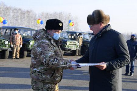 В Омской области автопарк охраны заказников пополнился на 12 внедорожников