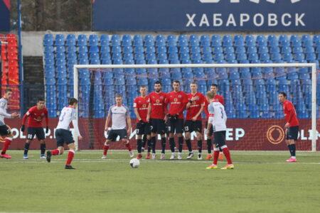 Омский «Иртыш» сыграл в ничью с «СКА-Хабаровск»