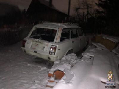 В Омске подростки угнали автомобиль