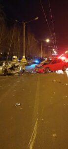 В Октябрьском округе Омска в аварии погибла женщина