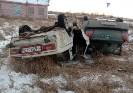 Два ребенка пострадали в аварии в Омской области