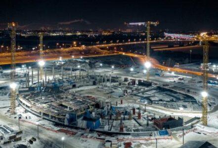 Строительство стадиона омского «Авангарда» будет продолжаться даже в праздники