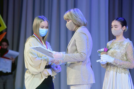 В Омске прошла церемония награждения победителей Дельфийских Игр.