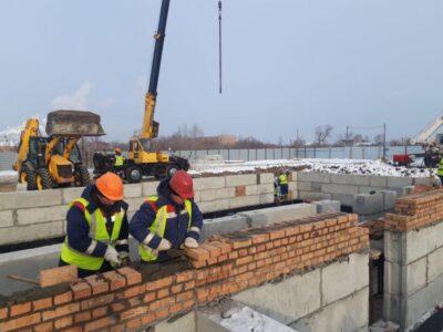 В Омске детский сад на улице 1-й Станционной планируют открыть осенью этого года