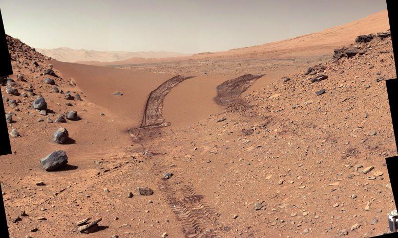 NASA обнаружило, что на Марсе присутствуют органические соли