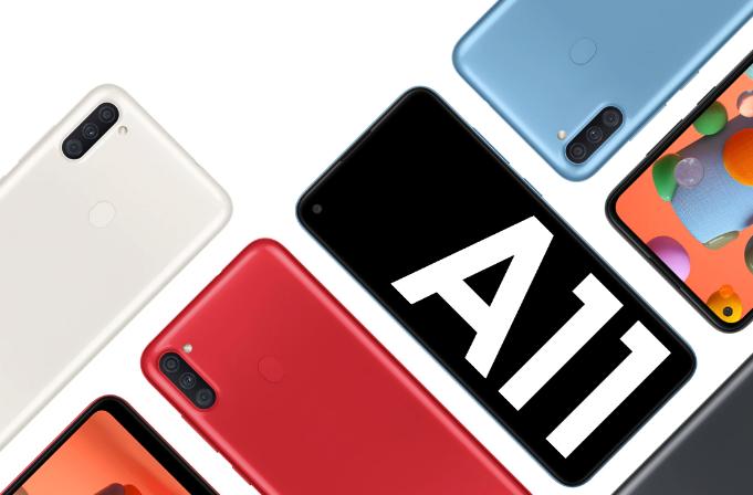 Samsung Galaxy A11 получил обновление Android 11 (One UI Core 3.1)