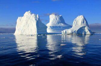 Исследователи обнаружили, что талые воды ледников Гренландии богаты ртутью