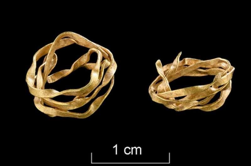 Археологи обнаружили самую старую находку из золота на юго-западе Германии