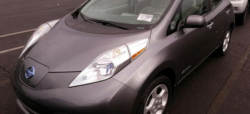 В Омской области продажи электромобилей выросли на 125%