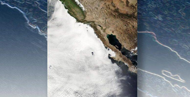 Спутниковые наблюдения показывают, что морские облака усиливают глобальное потепление