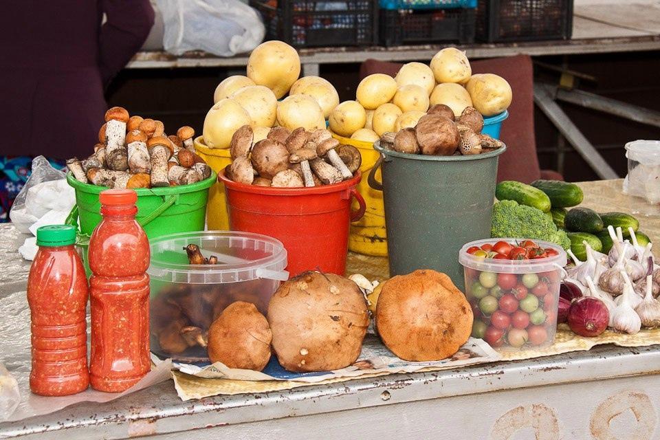 В Омске снизились цены на овощи