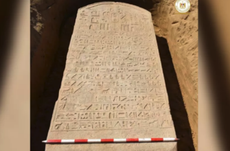 Фермер обнаружил 2600-летнюю каменную плиту египетского фараона