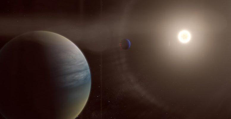 Были открыты две газообразные планеты вокруг яркой звезды, похожей на Солнце