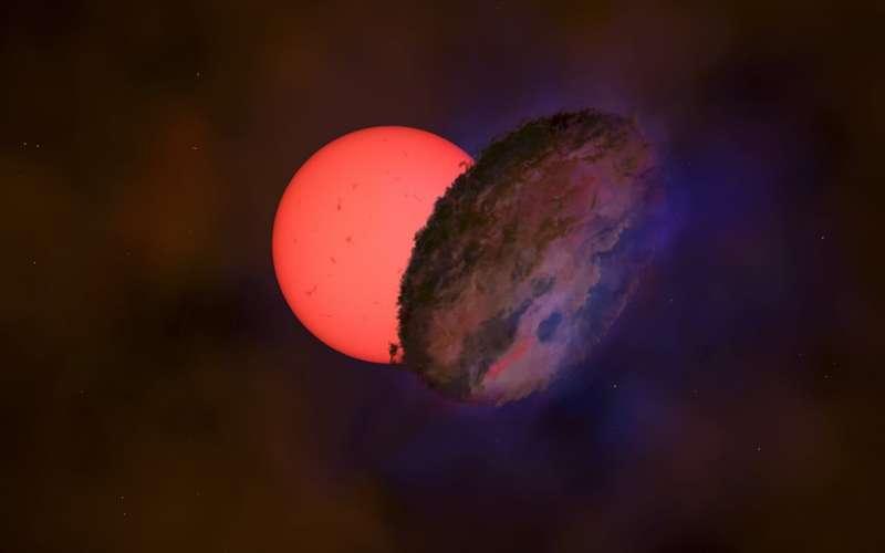 Астрономы заметили «мигающего гиганта» недалеко от центра галактики