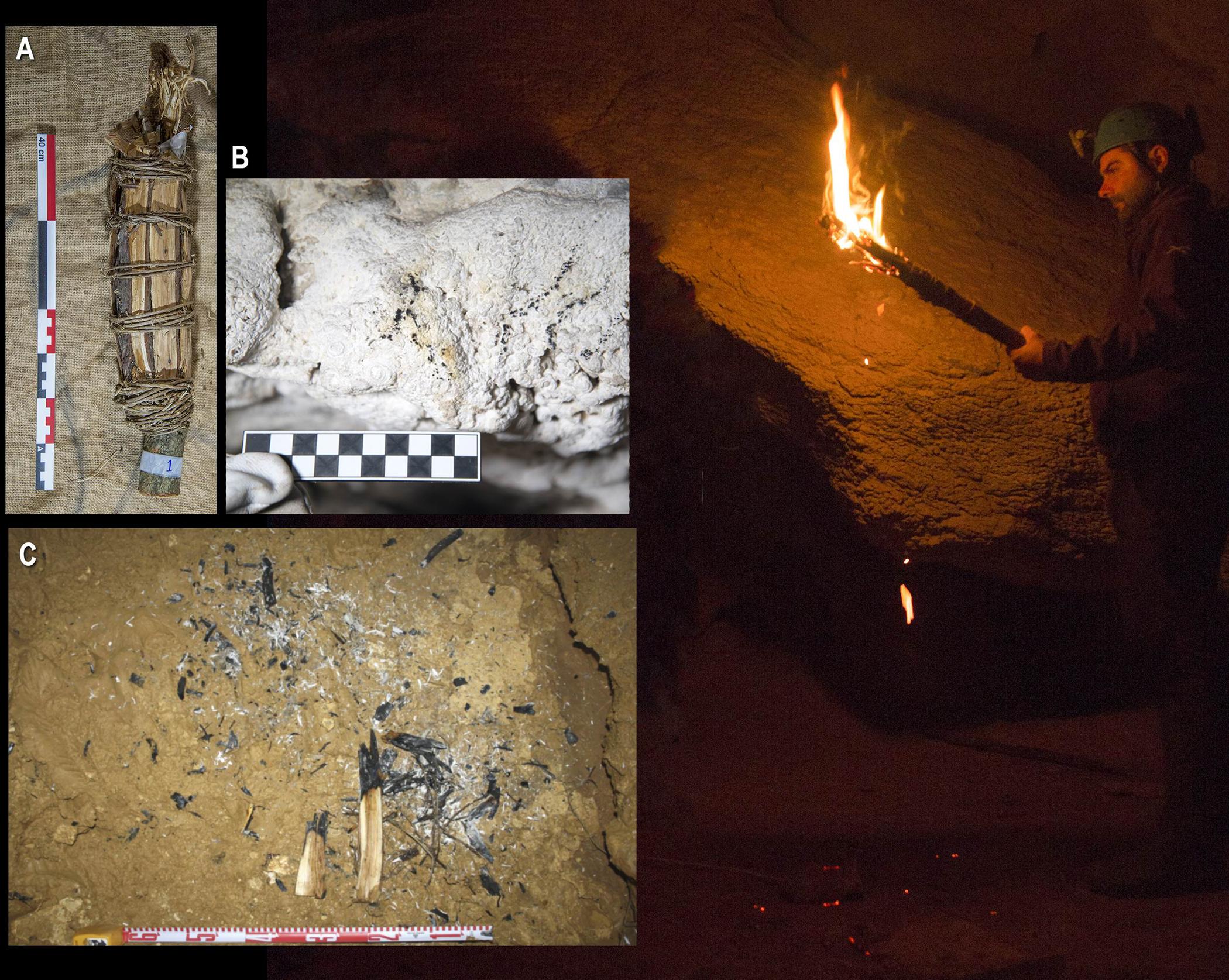 Исследователи проверяют, как доисторические художники освещали свои пещеры
