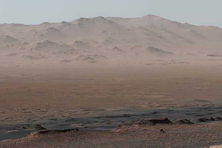 Глина из марсианского кратера говорит, что когда-то планета была обитаемой