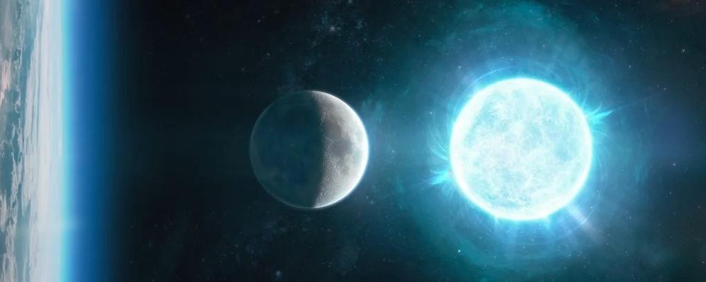 Астрономы обнаружили самую маленькую, но самую массивную мертвую звезду размером с Луну