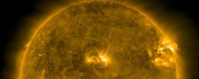 На Солнце была зафиксирована самая мощная вспышка с 2017 года