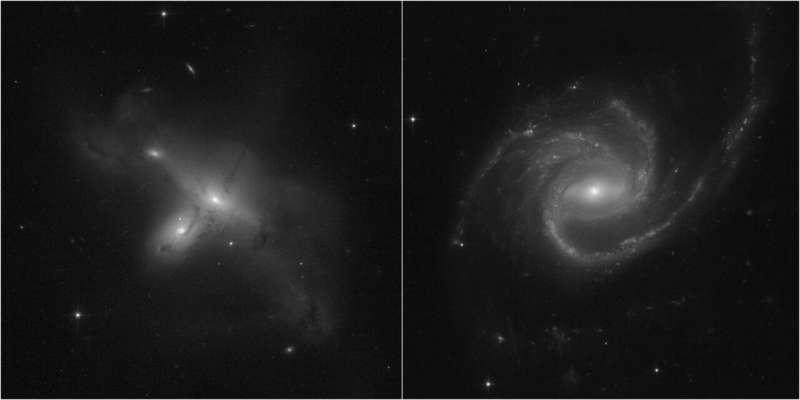 Космический телескоп Хаббл опубликовал новые изображения