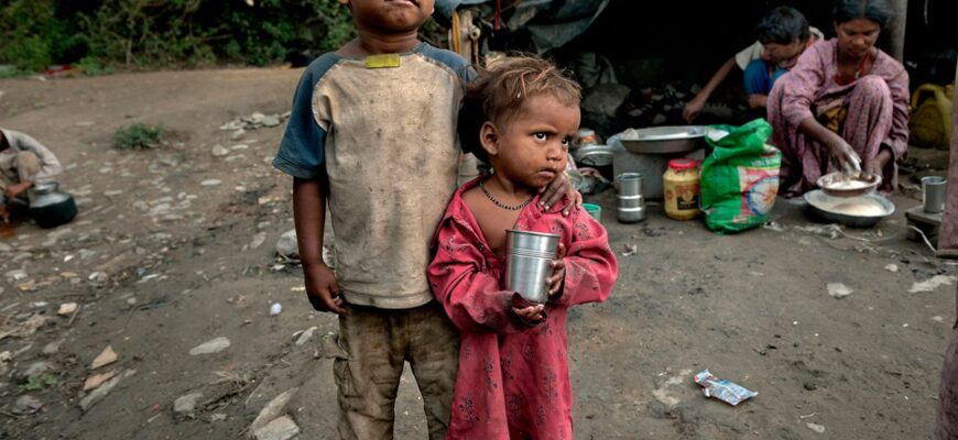 У детей, живущих в бедности, объем определенных подкорковых отделов мозга меньше, чем у обеспеченных