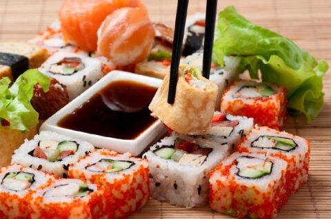 Заказать суши сет в Санкт Петербурге с доставкой от Суши Мастер